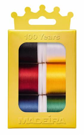 Rayon Anniversary Crown Thread Box