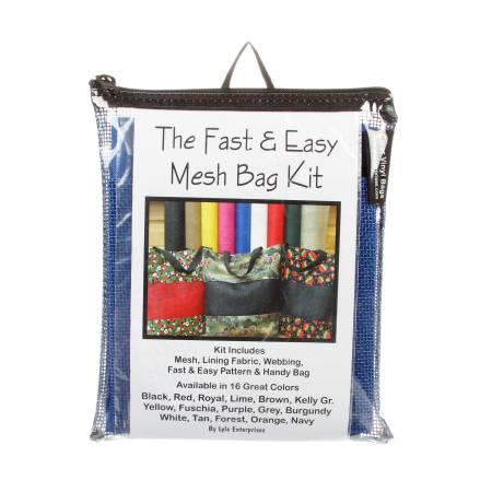 Fast and Easy Royal  Mesh Bag Kit