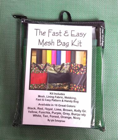 Fast and Easy Kelly Mesh Bag Kit