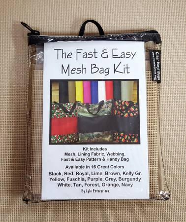 Fast and Easy Tan Mesh Bag Kit *
