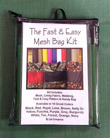Fast and Easy Forest Mesh Bag Kit