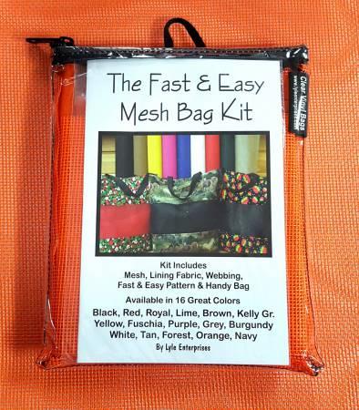 Fast and Easy Orange Mesh Bag Kit *