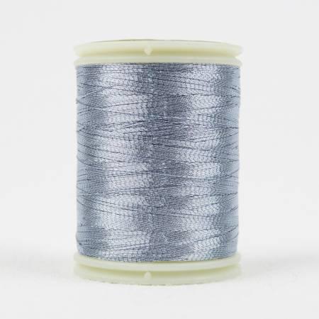 Spotlite 40wt Rayon Metallic 150m Ice Blue