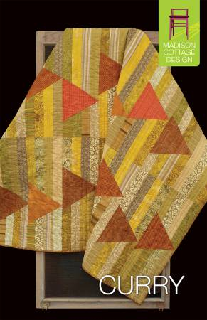 Curry Quilt Pattern by Madison Cottage Design