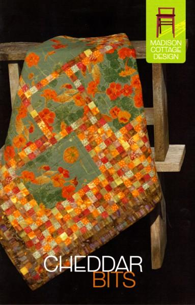 Cheddar Bits Quilt Pattern by Madison Cottage Design
