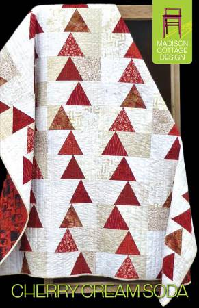 Pattern Cherry Cream Soda by Madison Cottage Design