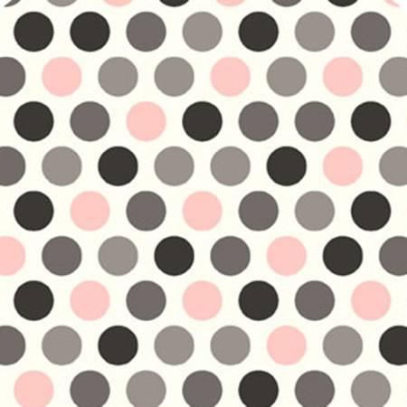 Blush/Silver Mod Dot Cuddle
