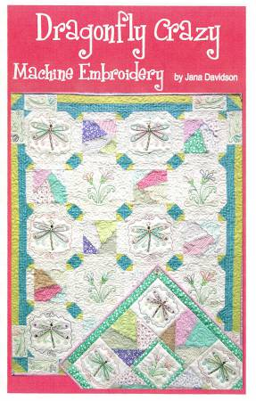 Dragonfly Crazy Machine Embroidery CD