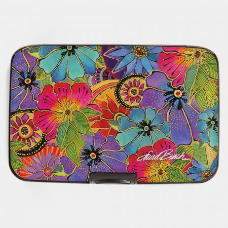 Blossoming Florals Armored Wallet