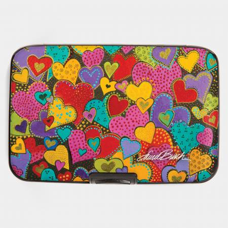 Dancing Hearts Armored Wallet