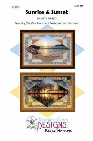 Sunrise and Sunset Panel pattern PTN2615