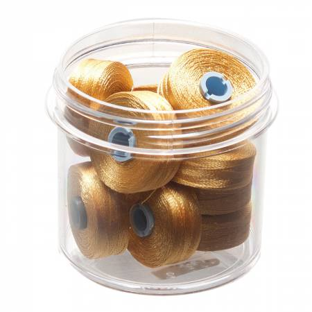 Magna Glide Delights Styl M Jmb 132yd Pre-wound Bobbin Military Gold 10 Jar