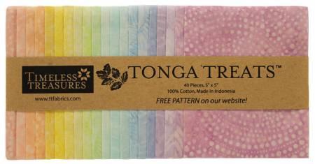 5in Squares, Tonga Batik Smile, 20pcs/bundle