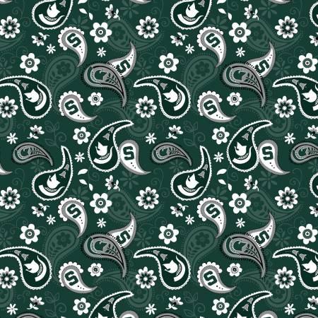 SE-MIST-1200 MSU Paisley Cotton