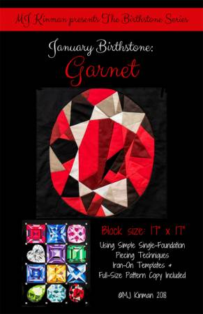 Birthstone Series - January Garnet