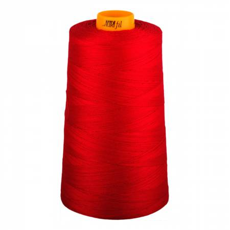 Aurifil Mako Cotton 3-ply Longarm Thread 40wt 3280yds Red