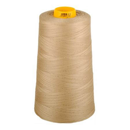 Aurifil Mako Cotton 3-ply Longarm Thread 40wt 3280 yd cone 2326 Sand