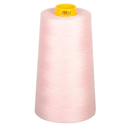 Aurifil Mako Cotton 3-ply Longarm Thread 40wt 3280 yd cone 2410 Pale Pink