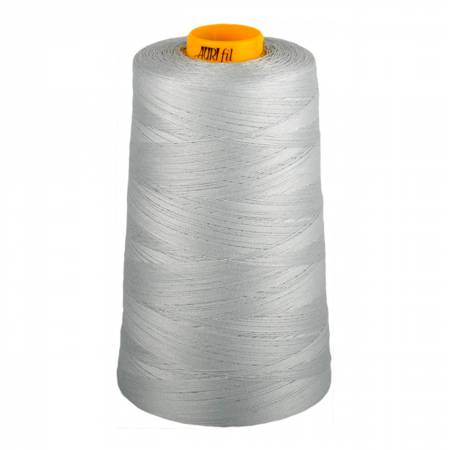 Aurifil Mako Cotton 3-ply Longarm Thread 40wt 3280 yd cone 2600 Dove