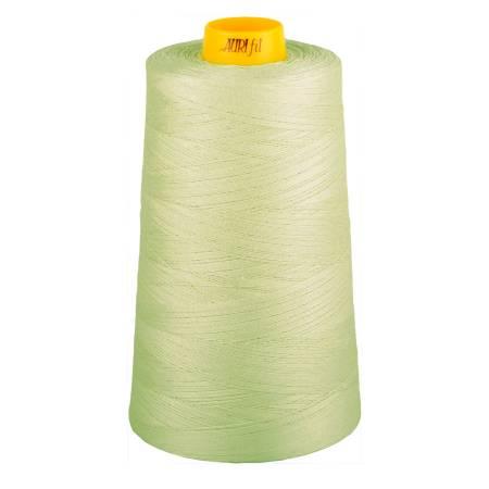 Aurifil Mako Cotton 3-ply Longarm Thread 40wt 3280 yd cone 2843 Light Grey Green