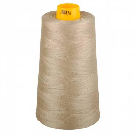 Aurifil Mako Cotton 3-ply Longarm Thread 40wt 3280 yd cone 5011 Rope Beige