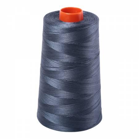 Mako Cotton Embroidery Thread 50wt 6452yds Medium Grey