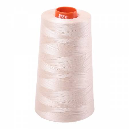 Mako Cotton Embroidery Thread 50wt 6452yds Light Sand