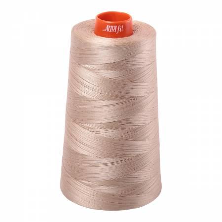 Aurifil Thread Sand Cone 2326 50wt 6452yds