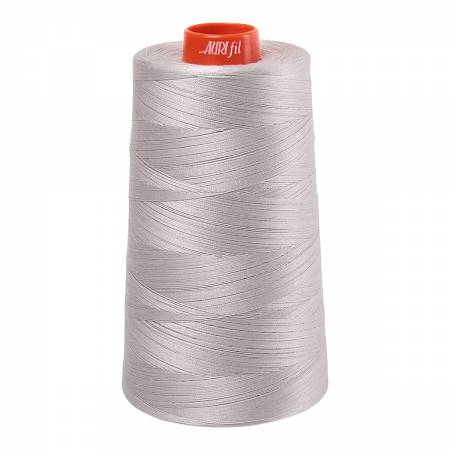 Mako Cotton Embroidery Thread Solid 50wt 6452yds Moonshine