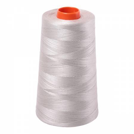 Aurifil Mako Cotton Embroidery Thread Solid 50wt 6452yds Moondust