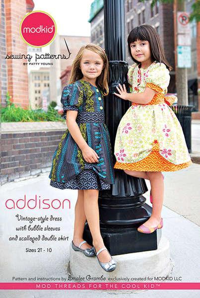 Addison Dress Pattern by Modkids