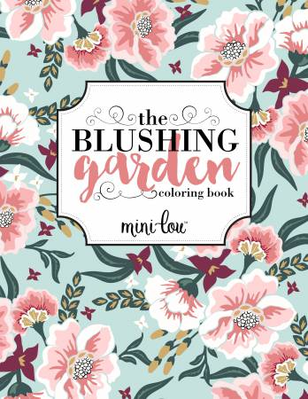 Blushing Garden Coloring Book - Softcover