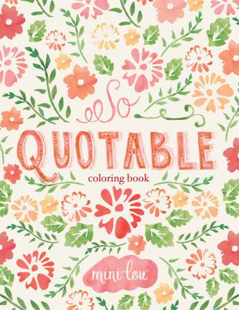 So Quotable Coloring Book - Softcover