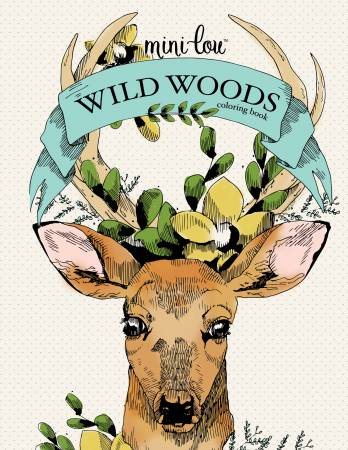 Wild Woods Coloring Book  - Softcover