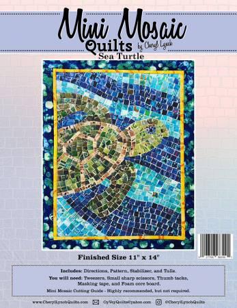 **Sea Turtle Mini Mosaic