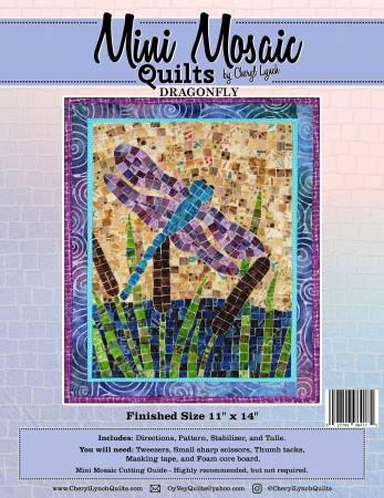Mosaic Dragonfly - Mini