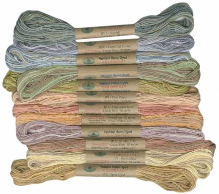 6 Ply Floss Muddy Monet valdani  12 Pack