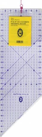 My Favorite Mitering Ruler 8in x 24in