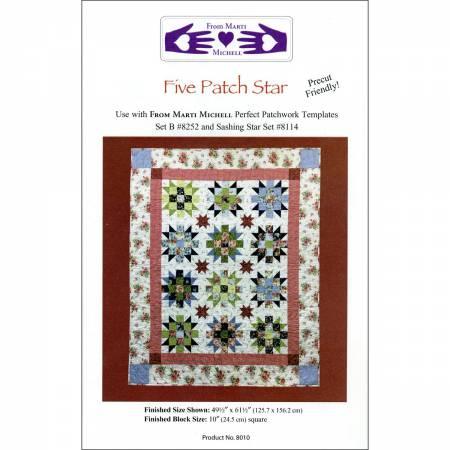 Five Patch Star Pattern