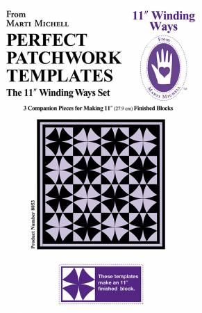 Winding Ways Template Set 11in by Marti Michell