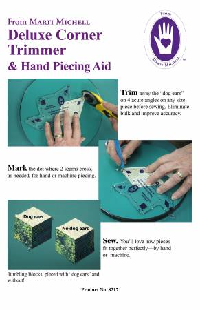 Deluxe Corner Trimmer & Hand Piecing Aid