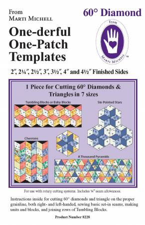 60 Degree Diamond Template