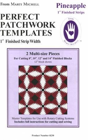 Pineapple template, Marti Michell