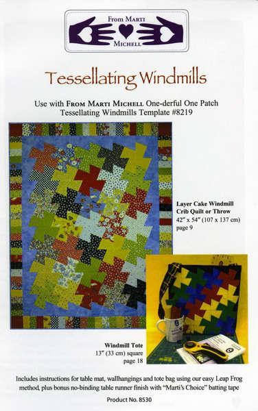 Tessellating Windmills Pattern