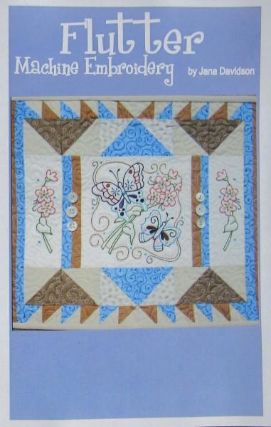 Pattern CD Flutter Machine Embroidery Mini