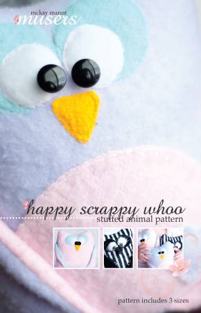 Happy Scrappy Whoo Owl Family MMM0002