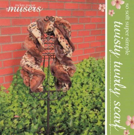 Twisty Twirly Scarf kit (pattern + fabric) - Mckay Manor Musers