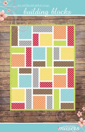 Building Blocks Quilt Pattern