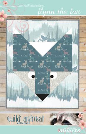 Flynn the Fox Baby Blanket Quilt Pattern