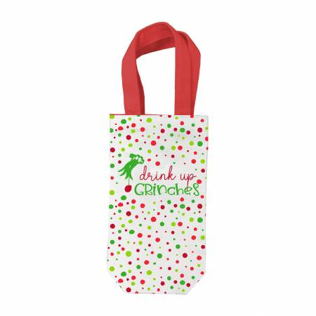 Drink Up Grinches Wine Bag